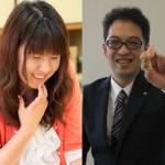 明日、関西揃い踏み。。今泉四段、中澤女流初段登場!