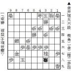 藤井聡太四段-金井恒太六段
