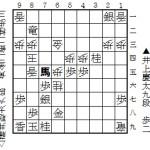 藤井聡太六段-井上慶太九段