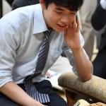藤井聡太七段-中村亮介六段
