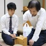 藤井聡太七段-堀口一史座七段